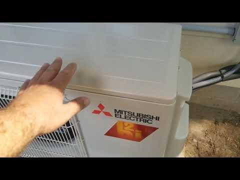 Mitsubishi Hyperheat mini-split install