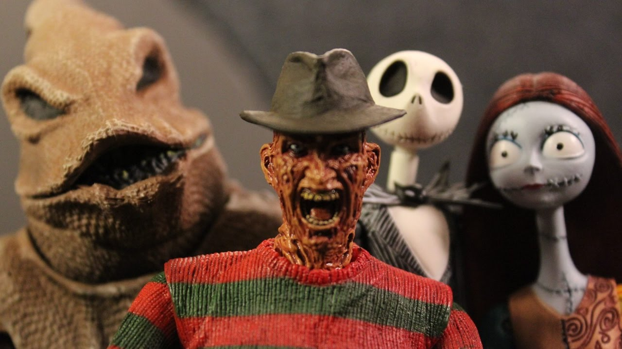 Nightmare Before Christmas Zombie.A Nightmare On Elm Street Before Christmas 2