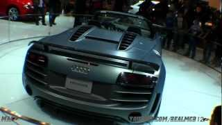 Audi R8 GT Spyder 2012 Videos