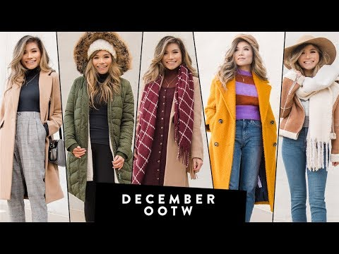 DECEMBER Outfits of the Week OOTW   Winter Outfit Ideas   Miss Louie