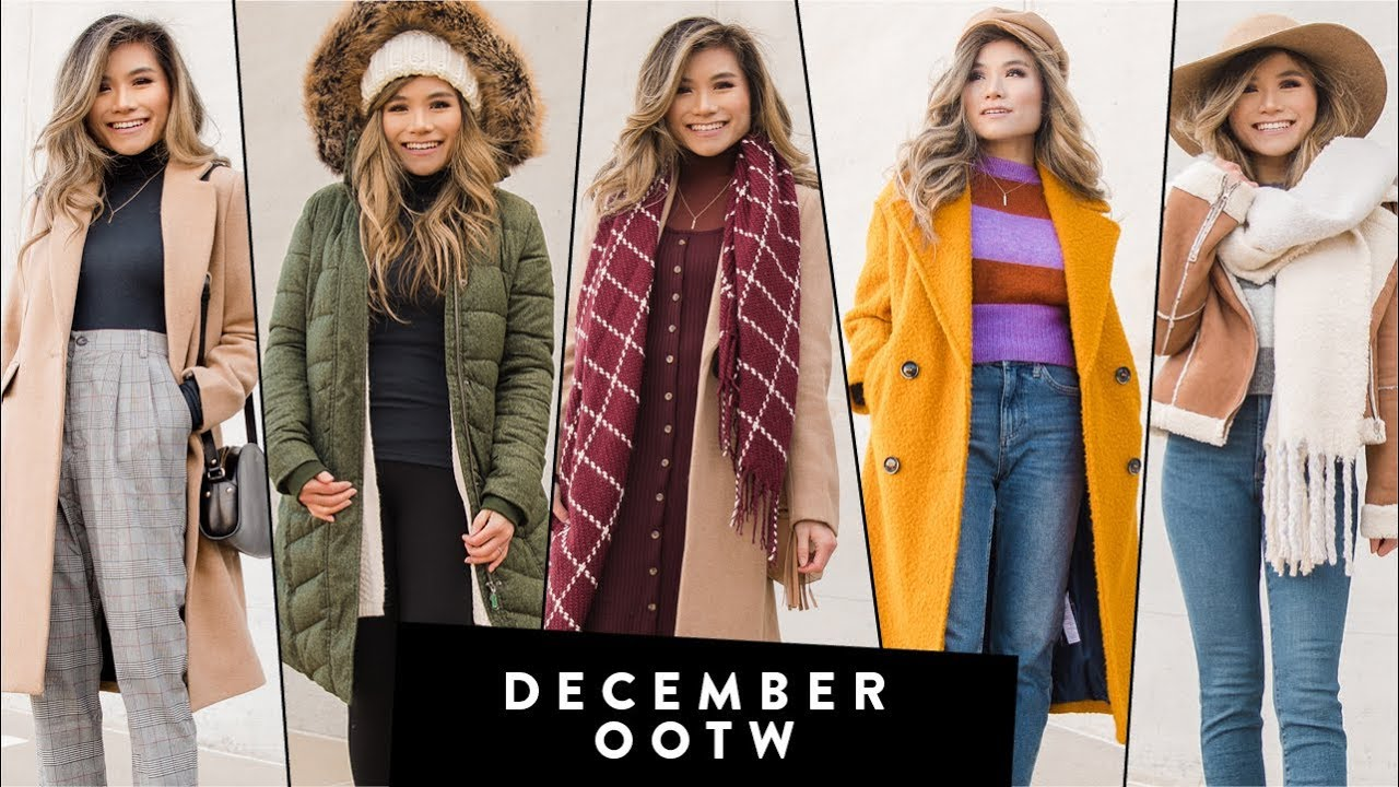 DECEMBER Outfits of the Week OOTW | Winter Outfit Ideas | Miss Louie 1