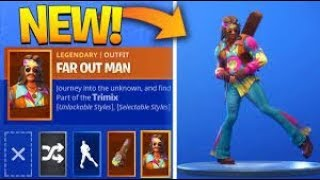 "**GIVEAWAY** ""Dreamflower"" and ""Far Out Man"" Fortnite Skins GIVEAWAY FOR SUBSCRIBERS!!!!"