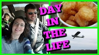 Taco Johns, Bath & Body Works, Airplane Rides at the Farm! Day in the Life