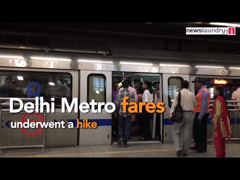 Students speak out how the Delhi Metro fare hike will affect them