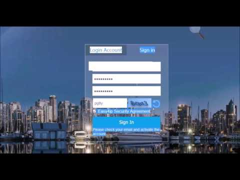 CAMX CCTV: How To Create An Account On Easy4IP.com