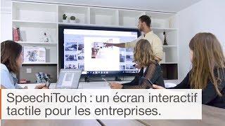 Présentation de l'écran interactif tactile