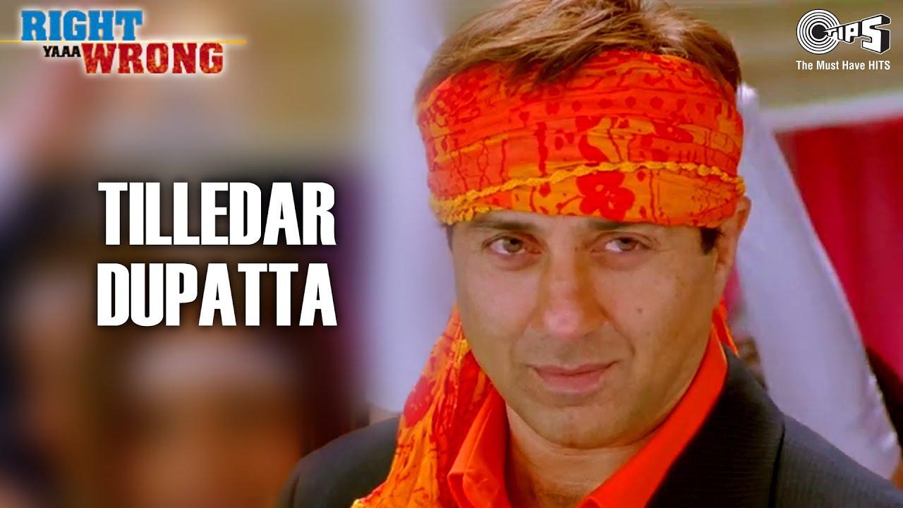 Download Tilledar Dupatta | Right Ya Wrong | Sunny Deol | Isha Koppikar | Mika Singh | Shail | Hindi Song