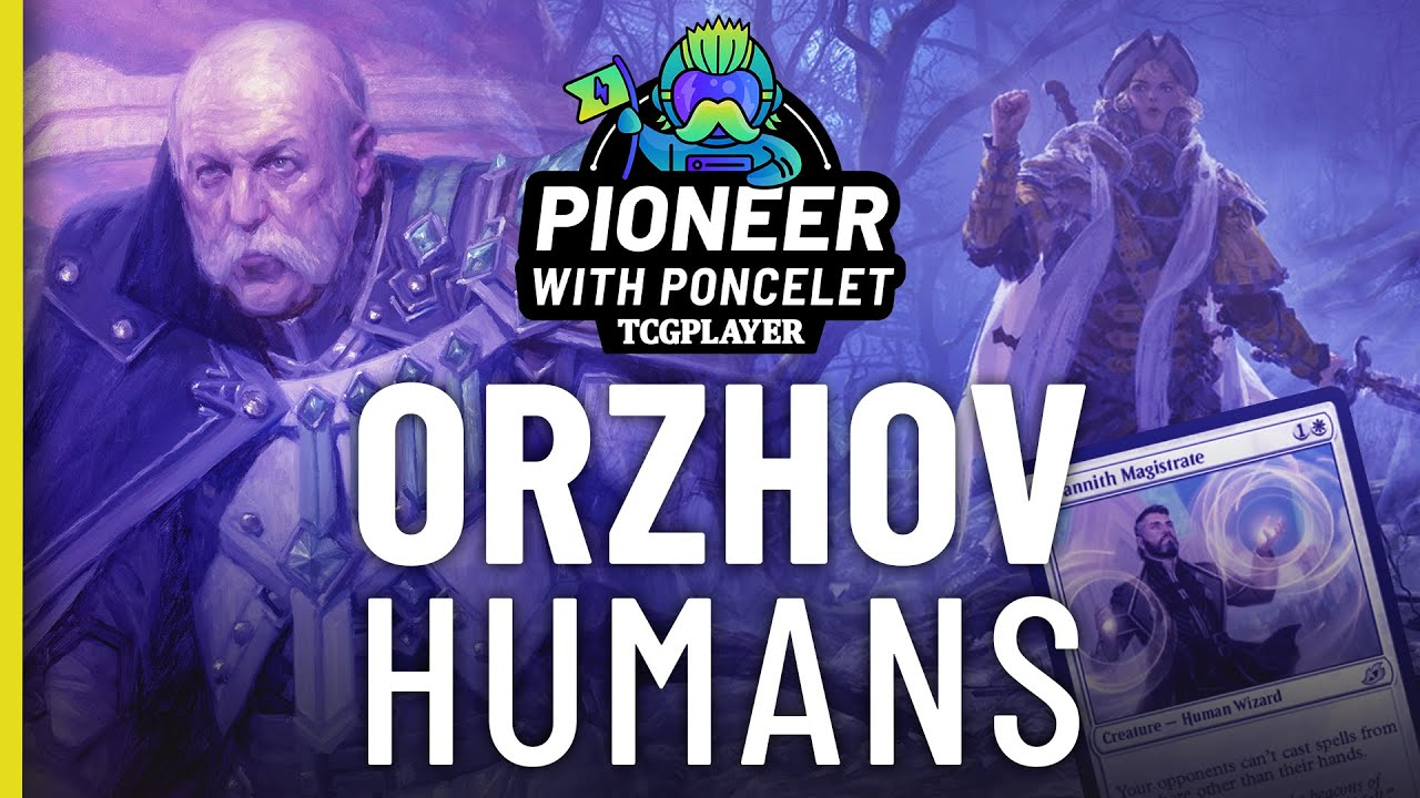 Orzhov Humans Pioneer With Poncelet Youtube Magic the gathering and mtg arena deck lists. orzhov humans pioneer with poncelet