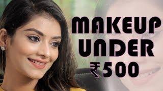 Makeup Under 500 Challenge | Makeup Tutorial | Makeup Challenge | Foxy Makeup Tutorials