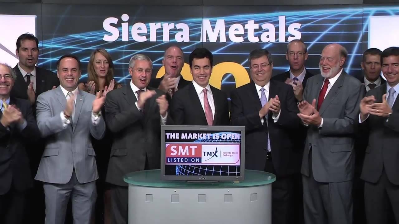 Sierra metals smttsx opens toronto stock exchange september 12 sierra metals smttsx opens toronto stock exchange september 12 2013 tmx group publicscrutiny Choice Image
