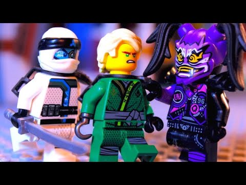 LEGO Ninjago The Sons of Garmadon EPISODE 4 - The CHASE! (Part 1)