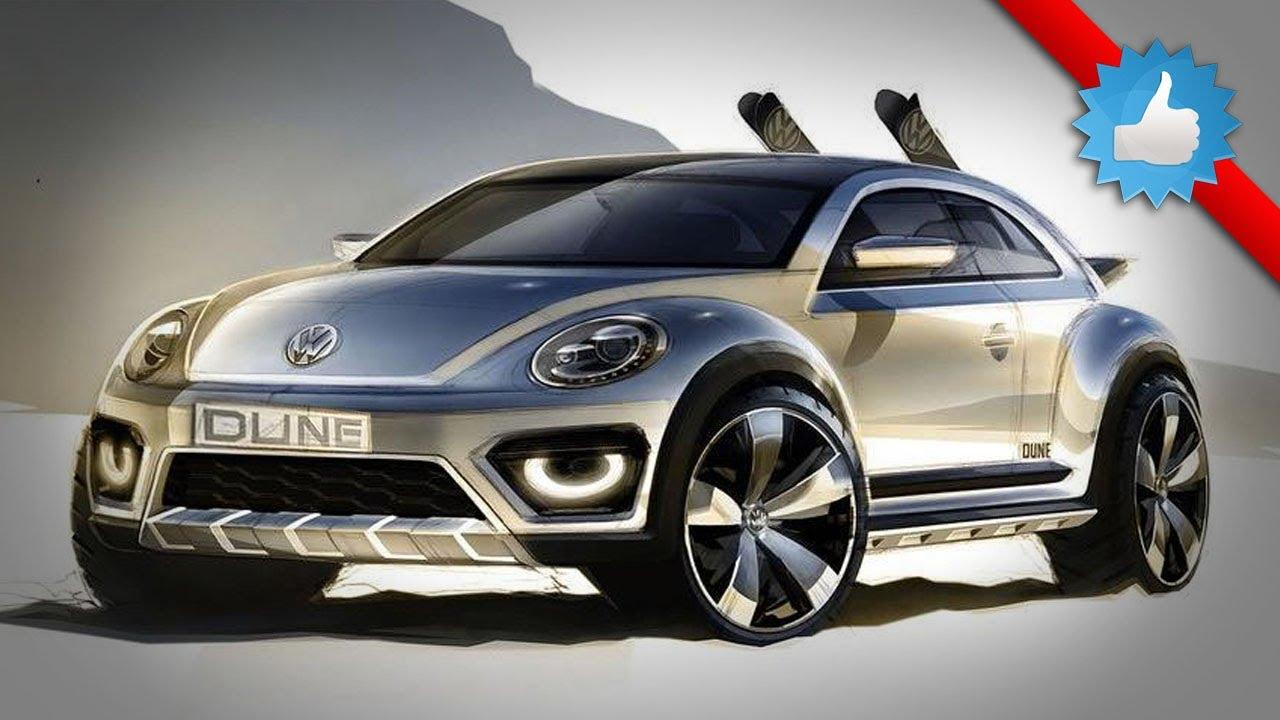 New VW: Volkswagen Beetle Dune Concept For 2014 Detroit