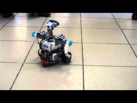 Видео, Робот-танцор на конкурсе для школьников Уникальный робот в Перми