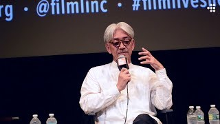 "Ryuichi Sakamoto On Improvisation ""You Have To Open Your Ears"""