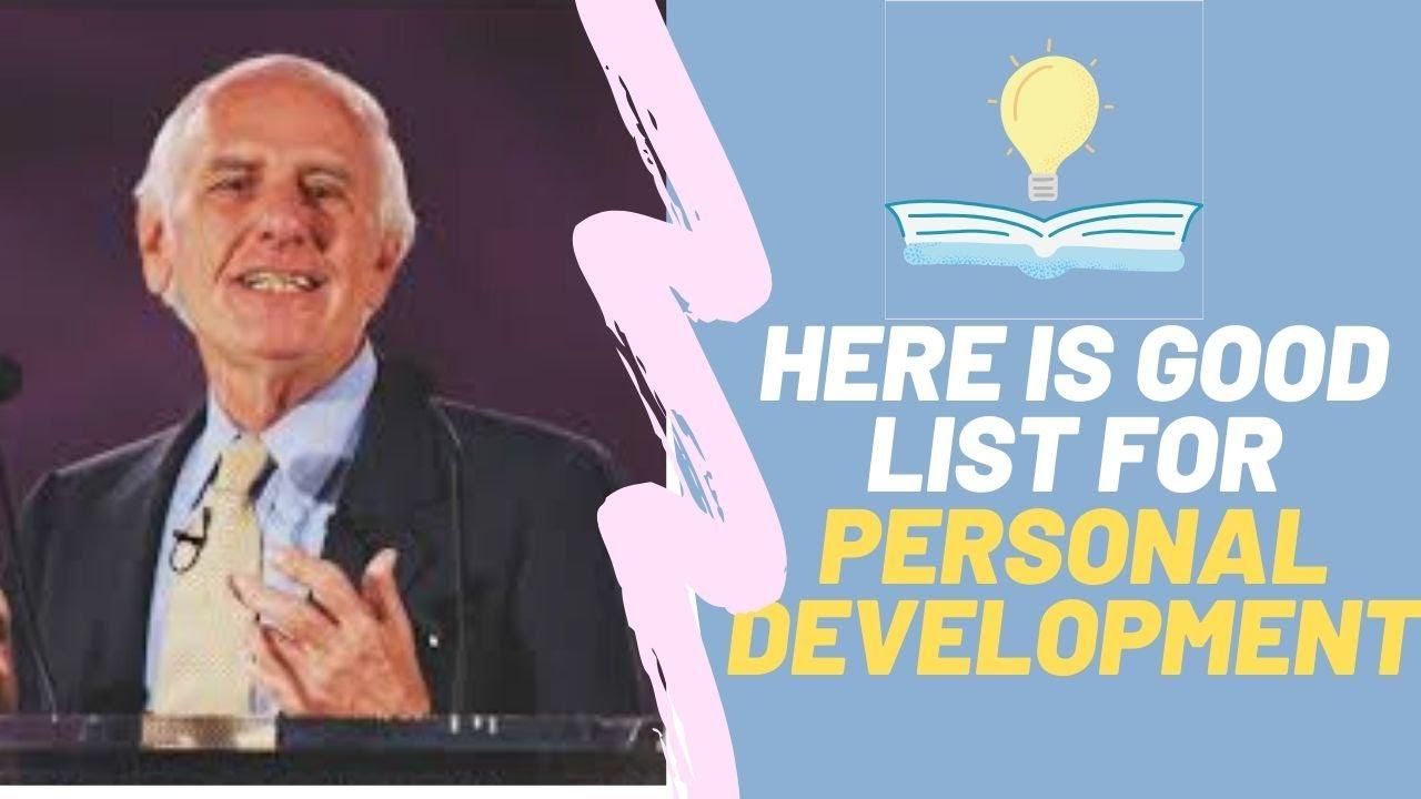 Here is good list for Personal Development Jim Rohn | skills of Network Marketing business