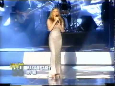 Mariah Carey  My All & Remix    at World Music Awards 1998