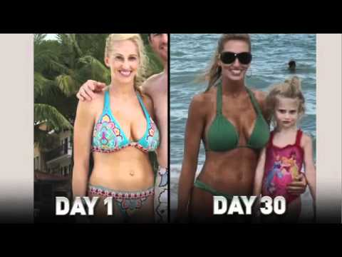 P90X Results & Raw Vegan Diet 90 Days Female Body Trans ...