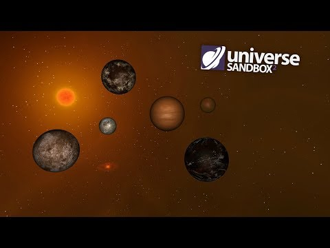 Making A Solar System Out Of Brown Objects, Universe Sandbox ²