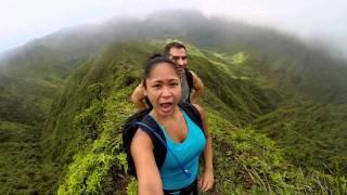Moanalua Ridge to Haiku Stairs 8/29/15