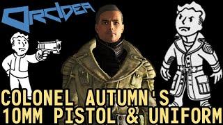 Fallout 3 Unique Weapons - Colonel Autumn's 10mm Pistol & Uniform thumbnail
