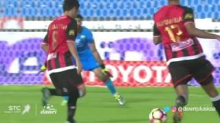 هدف الرائد الثانى ضد الاتفاق (عبد الكريم القحطانى) في الجولة 7 من دوري جميل
