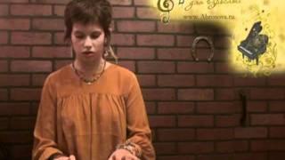 Мелодія з х/ф ''Іграшка'' - виконує учениця.mp4