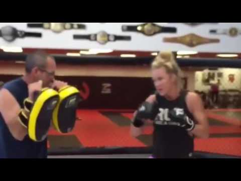 Holly Holm | Training For Germaine de Randamie