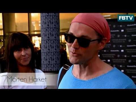 the red carpet interview with MORTEN HARKET @ Fredrikstad Kino [Aug. 23, 2013]