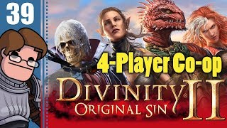 Let's Play Divinity: Original Sin 2 Four Player Co-op Part 39 - Counting Your Chickens