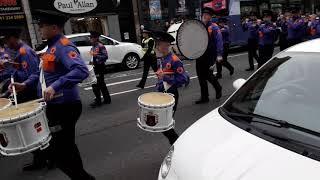 Drumchapel Orange &purple Flute Band @ Partick UPRG Parade 06/04/2019