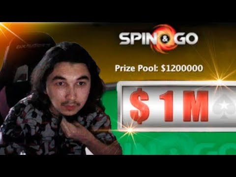 MiracleQ СОРВАЛ ДЖЕКПОТ НА 1200000$ В SPIN AND GO/ Biggest WIN Poker Spin And Go