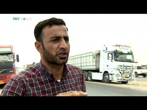 Drivers navigate through sectarian violence in Iraq, Nicole Johnston reports