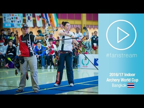 #FanStream: Delayed Live Finals [No commentary] | Bangkok 2016 Indoor Archery World Cup Stage 2