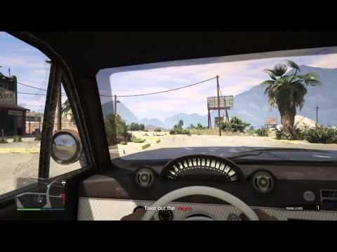 GTA V online helping people