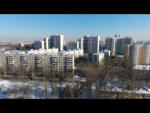Beautiful sceneries: Kashirskaya, Moscow, Winter 16-17