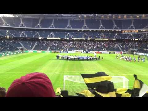 Stockholm, Sweeden - AIK FC Song