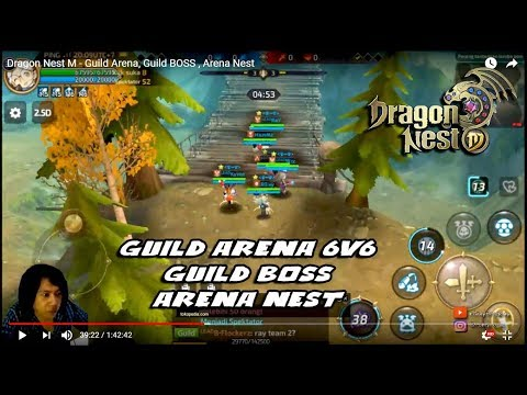 S4 !!! Dragon Nest M - Guild Boss, Guild Arena , Arena Nest