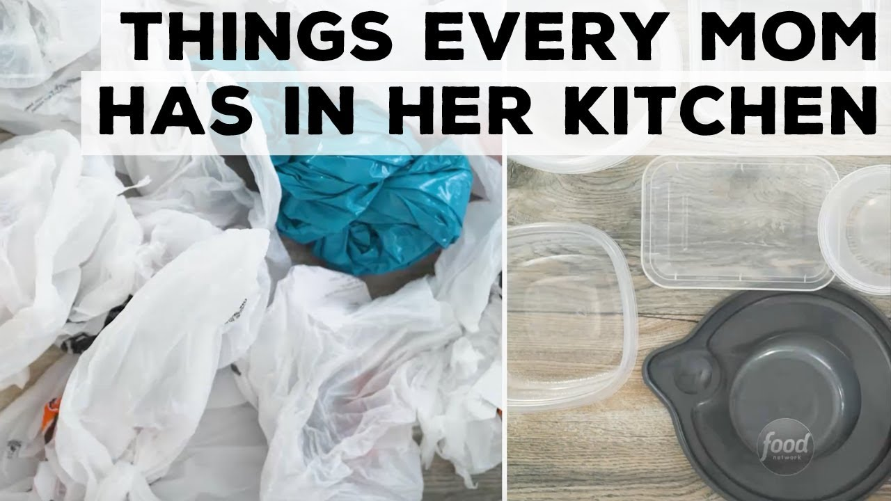 8 Things Every Mom Has in Her Kitchen | Food Network - YouTube