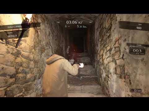 Mod Progress - Third Person Mercenaries in Resident Evil Village (Very Experimental)