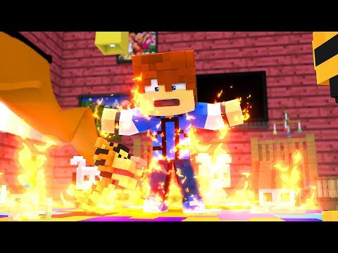 Minecraft Daycare - DAYCARE FIRE !? (Minecraft Roleplay)