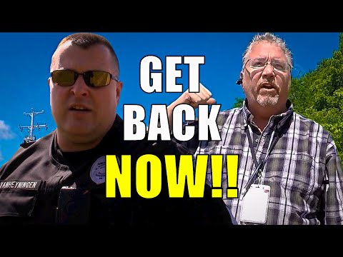 1ST AMENDMENT AUDIT: COPS CALLED AT POST OFFICE!