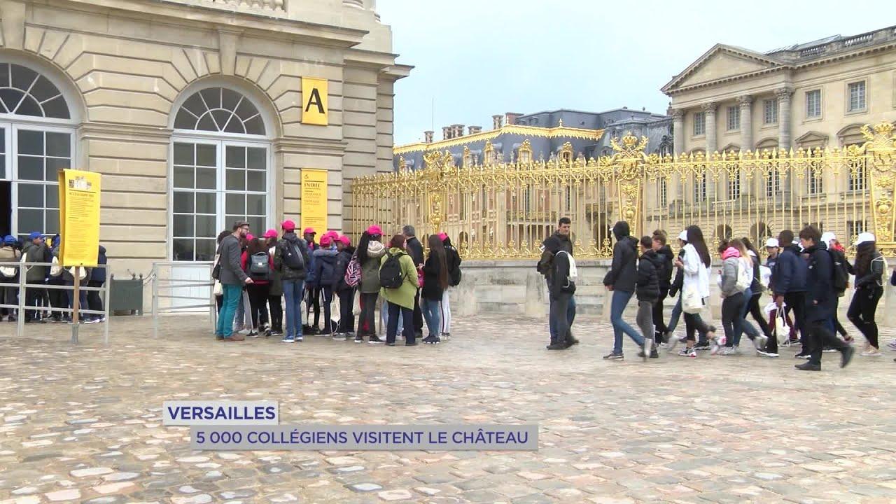 Yvelines | Versailles : 5 000 collégiens visitent le château