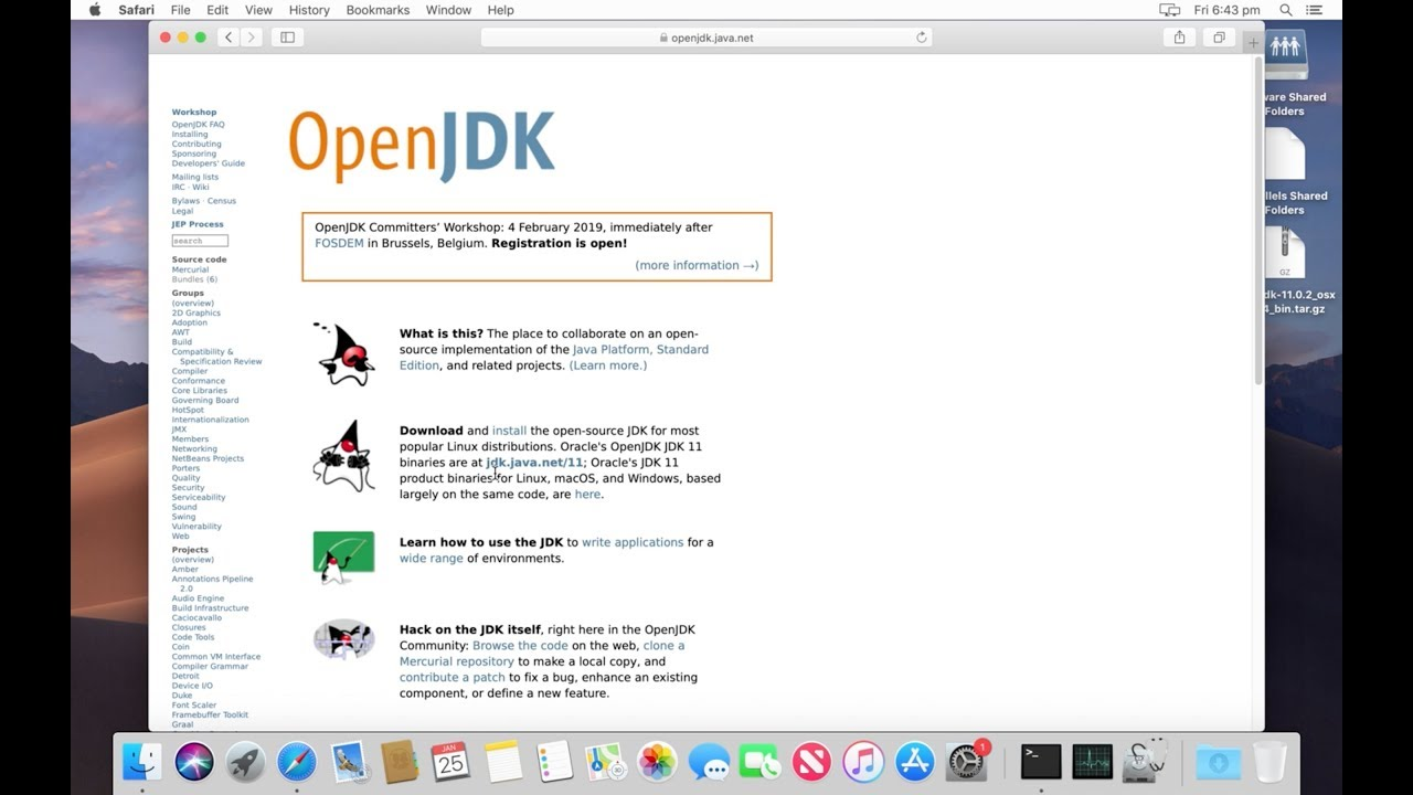 How to Install OpenJDK 11 in MAC macOS Mojave - 2019