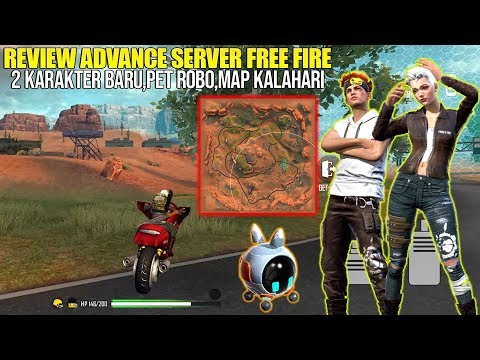 REVIEW MAP KALAHARI ADVANCE SERVER FREE FIRE! MAP NYA KEREN BANGET GUYS!