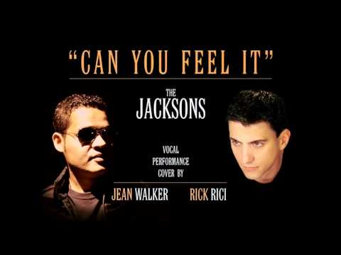 THE JACKSONS - Can You Feel It (vocals cover by Jean Walker & Rick Rici)