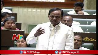 I Will Take On Serious Action On Timber Smugglers: CM KCR || Telangana Assembly || NTV