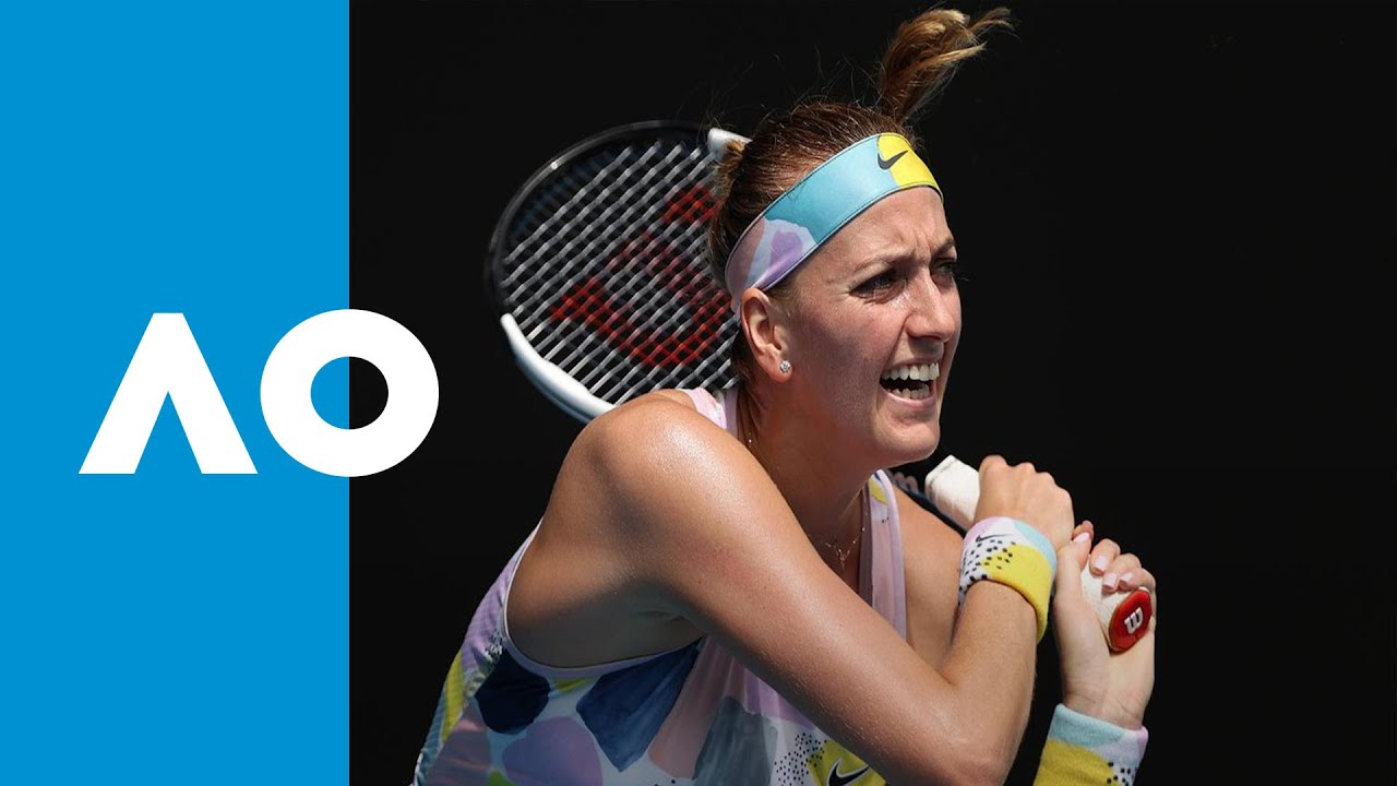 Paula Badosa Gibert Vs Petra Kvitova Match Highlights R2 Australian Open 2020