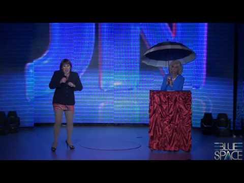 Blue Space Oficial - Stefany Di Bourbon e Valenttini Drag - 09/11/2013