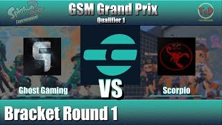 Splatoon 2 - GSM Grand Prix Qualifier 1: Ghost Gaming VS Scorpio (Bracket Round 1)