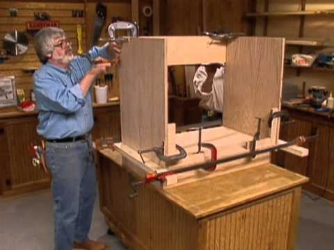 Cabinet Making Techniques Part 7: Assembling Face Frame Cabinets ...